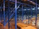 СКЛАД КОМПАНИИ СПОРТМАСТЕР .Смонтирован 3-х этажный мезанин .Оборудование